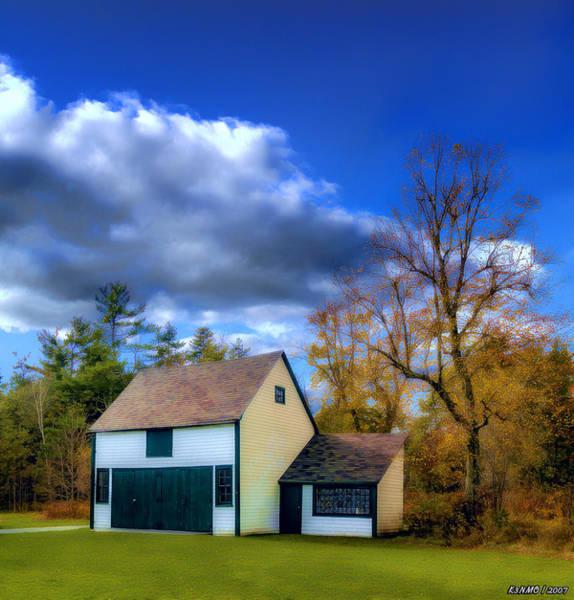 Halifax Nova Scotia Digital Art - Autumn In Mount Uniacke by Ken Morris