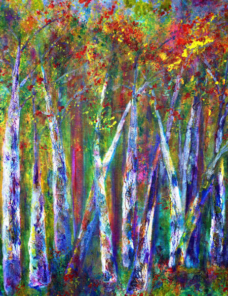 Painting - Autumn In Muskoka by Claire Bull