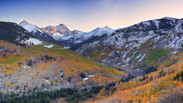 Fourteener Photograph - Autumn In The Elks by Rodeonexis Photography