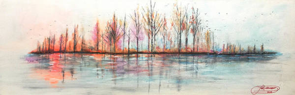 Painting - Autumn In The Hamptons by Jack Diamond