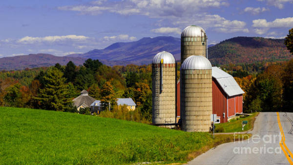 Photograph - Autumn In The Mad River Valley. by New England Photography