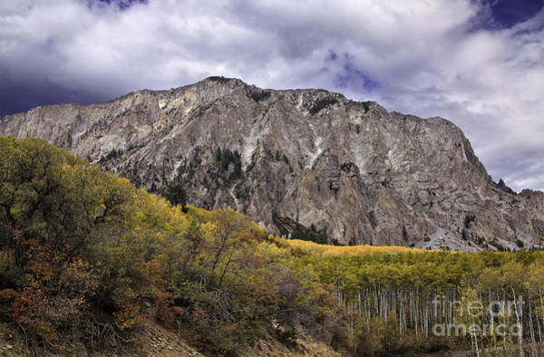 Autumn In The Mountains Art Print