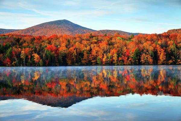 Vermont Photograph - Autumn In Vermont by Denistangneyjr