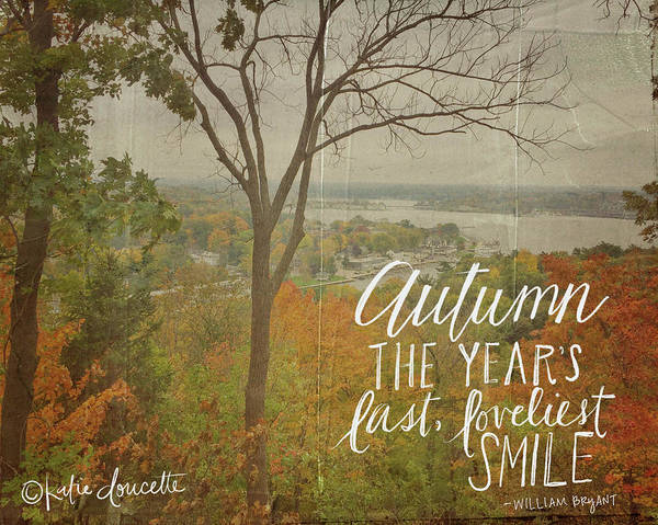 Autumn Wall Art - Photograph - Autumn by Katie Doucette