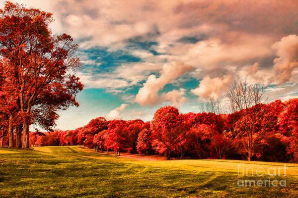 Photograph - Autumn Landscape by Jeff Breiman