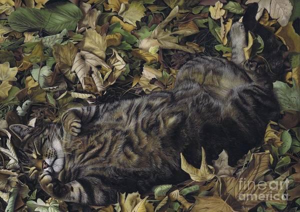 Pastel - Autumn Leaves by Karie-Ann Cooper