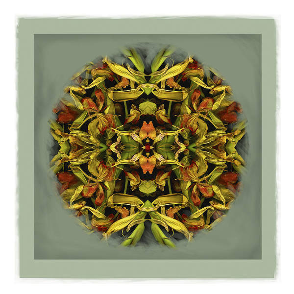 Autumn Mandala Art Print