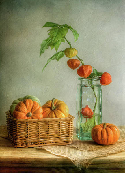 Pumpkins Wall Art - Photograph - Autumn by Mandy Disher