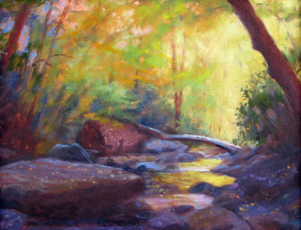 Wall Art - Painting - Autumn Memory by Bonnie Mason