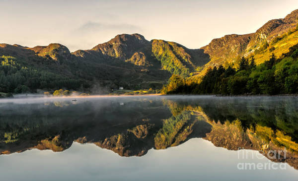Coed Photograph - Autumn Mist  by Adrian Evans
