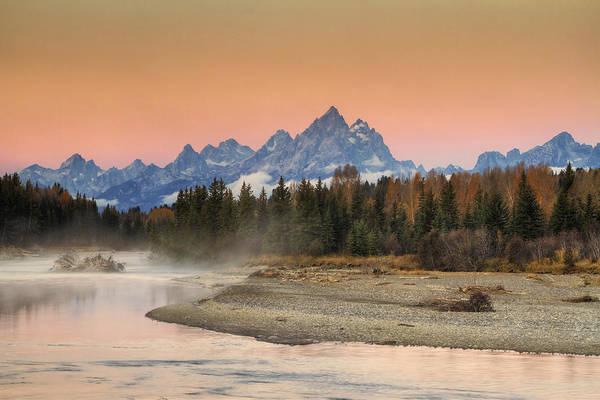 Photograph - Autumn Mist by Mark Kiver