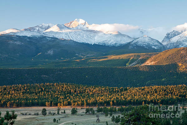 Photograph - Autumn Morning At Beaver Meadows In Rocky Mountain National Park by Fred Stearns