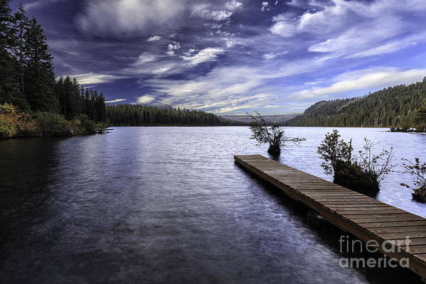 Photograph - Autumn Morning At Suttle Lake by Stuart Gordon
