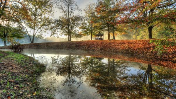 Autumn Morning Art Print