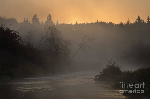 Sturgeon River Photograph - Autumn Morning - Sturgeon River by Dan Jurak