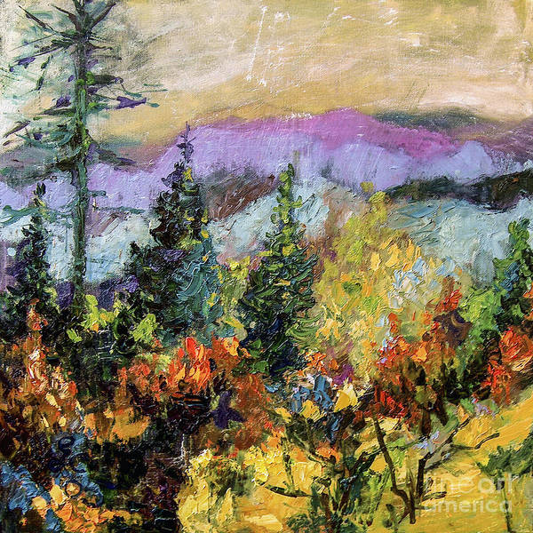 Painting - Autumn Mountain View North Georgia by Ginette Callaway