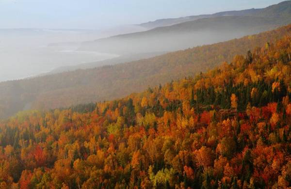 Cabot Trail Photograph - Autumn Mountains At The Cabot Trail by Jetson Nguyen