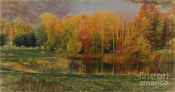 Wall Art - Painting - Autumn Oil Painting  by Heinz G Mielke