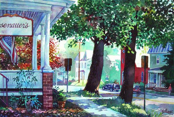 Autumn On East Main Art Print