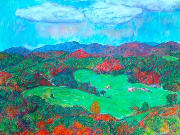 Painting - Autumn On The Blue Ridge by Kendall Kessler