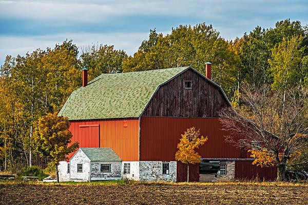 Wall Art - Photograph - Autumn On The Farm by Paul Freidlund