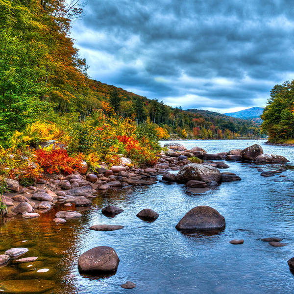 Photograph - Autumn On The Hudson by David Patterson