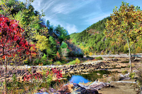 Ocoee Wall Art - Photograph - Autumn On The Ocoee by Kristin Elmquist