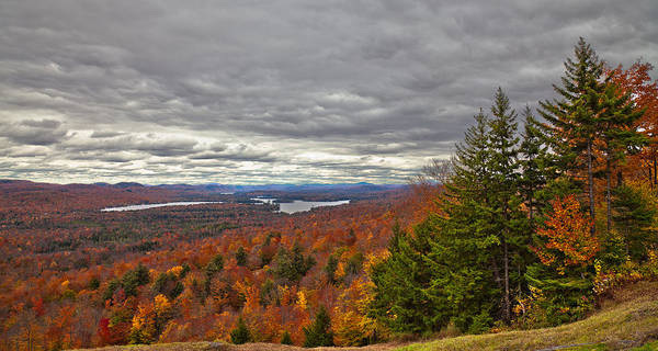 Photograph - Autumn On Top Of Mccauley Mountain by David Patterson