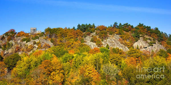 Photograph - Autumn Panorama by Lutz Baar