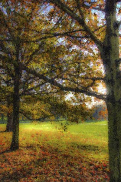 Wall Art - Digital Art - Autumn Pastel by David Pyatt