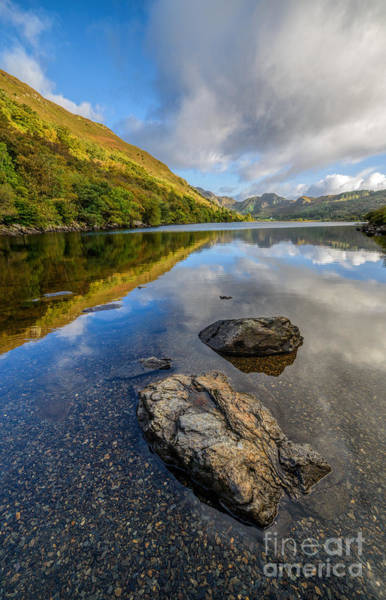 Coed Photograph - Autumn Reflection by Adrian Evans