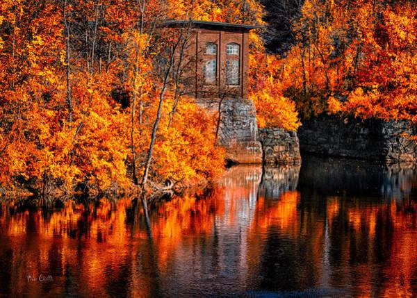 Lewiston Photograph - Autumn Reflections  by Bob Orsillo