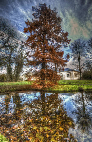 Cupola Digital Art - Autumn Reflections. by Nathan Wright