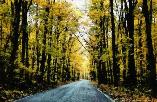 Photograph - Autumn Road by Michelle Calkins