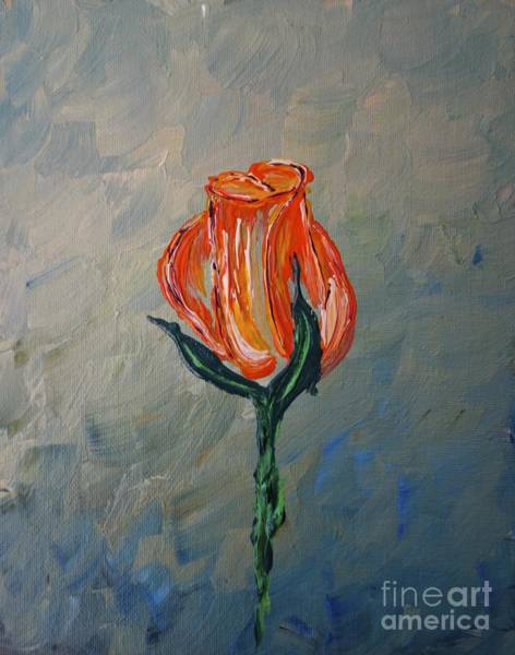 Painting - Autumn Rose by Jacqueline Athmann
