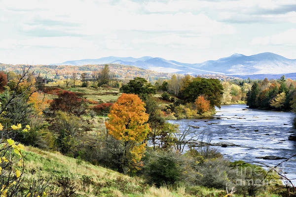 Photograph - Autumn Rural Scene by Deborah Benoit