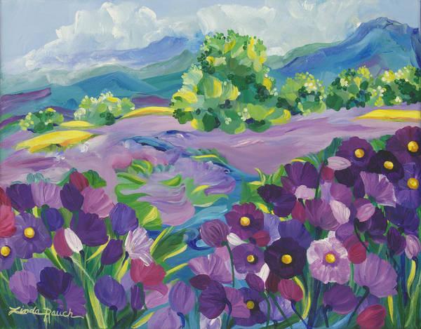 Painting - Autumn Serenade by Linda Rauch