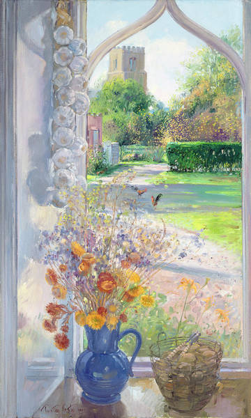 Wall Art - Painting - Autumn Still Life by Timothy Easton
