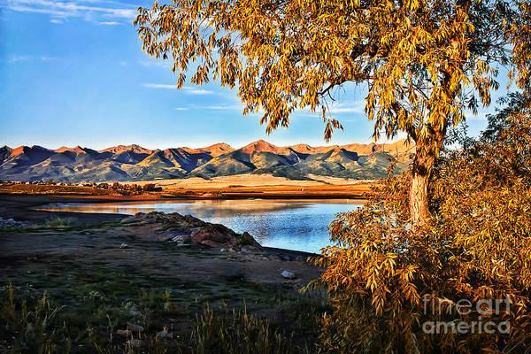 Westcliffe Photograph - Autumn Sunrise At Deweese Reservoir by Priscilla Burgers