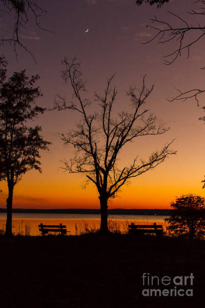 Photograph - Autumn Sunset by Heather Roper