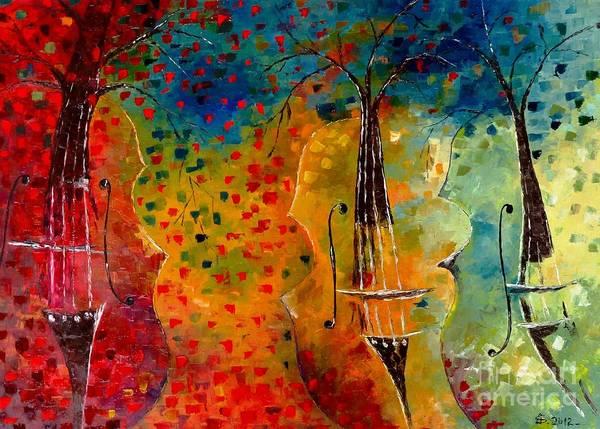 Autumn Symphony Art Print by Amalia Suruceanu