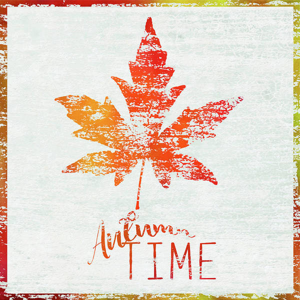Autumn Wall Art - Painting - Autumn Time by Cora Niele