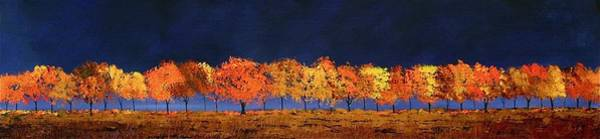 Painting - Autumn Trees by William Renzulli