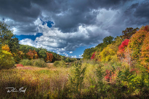 Photograph - Autumn Valley by William Reek