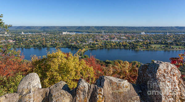 Photograph - Autumn View From Garvin Heights by Kari Yearous
