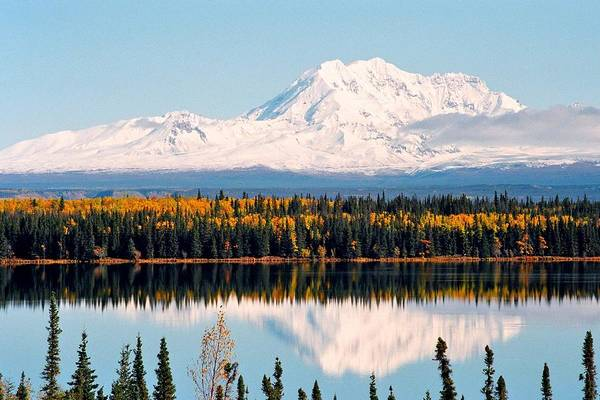 Schnee Wall Art - Photograph - Autumn View Of Mt. Drum - Alaska by Juergen Weiss