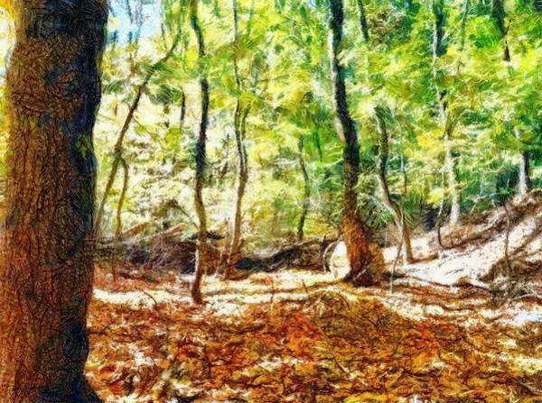 Painting - Autumn Warmth by Derek Gedney