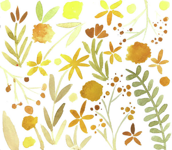 Wall Art - Painting - Autumn Watercolor by Katie Doucette