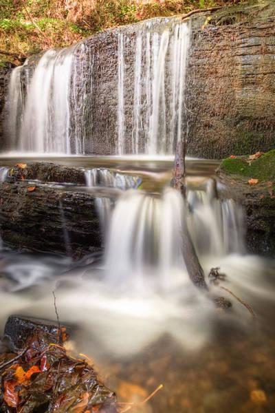 Christine Falls Photograph - Autumn Waterfall by Christine Smart