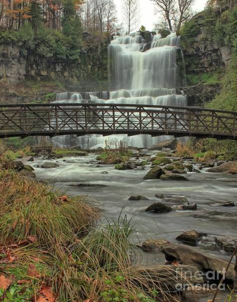 Photograph - Autumn Waterfalls by Rod Best